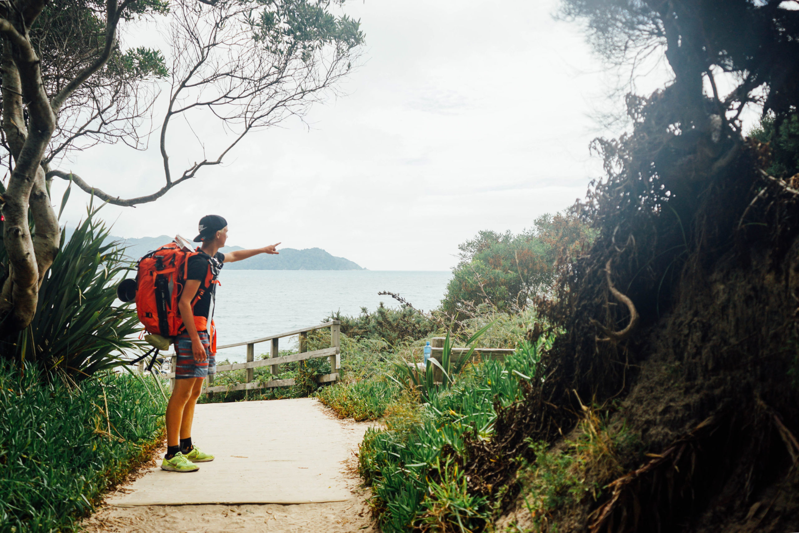 Nico shows you the way - not only in the backpackers guide for New Zealand
